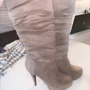 Shoes - Tall heeled boots